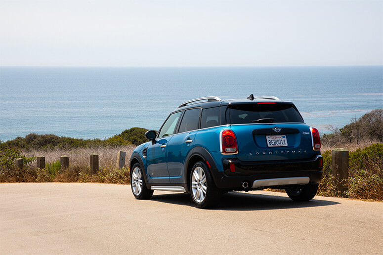 Ana Hito's California Coast Road Trip, Mini Cooper
