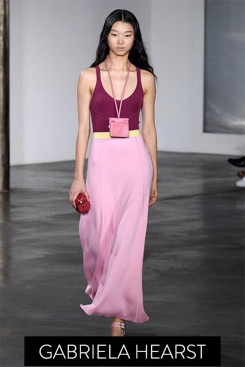 Model wearing Gabriela Hearst