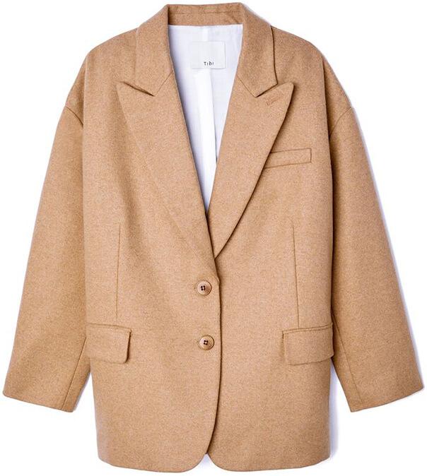 TIBI beige blazer