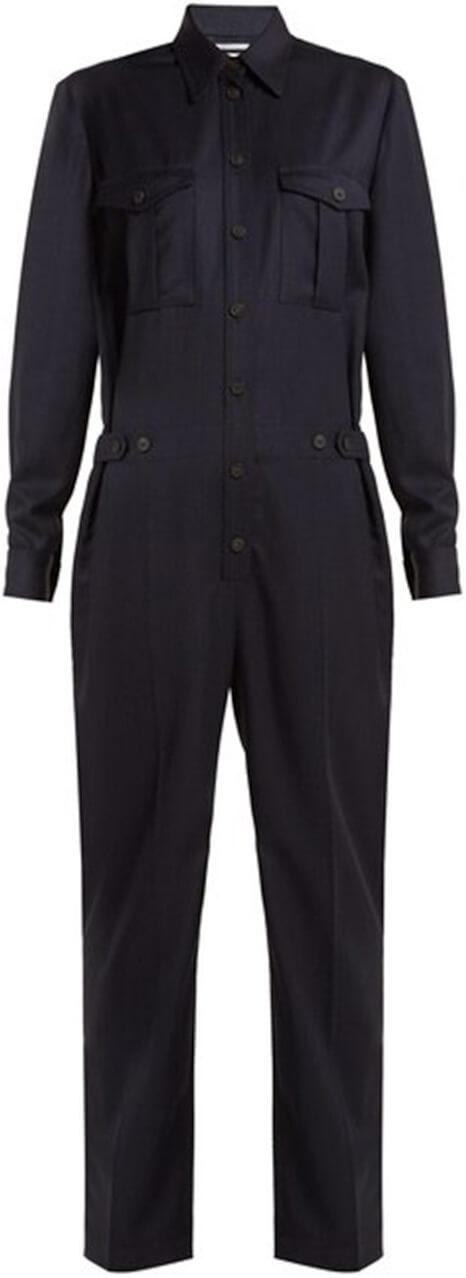 PALLAS X CLAIRE THOMPSON-JONVILLE black jumpsuit