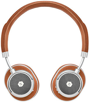 MASTER & DYNAMIC brown headphones