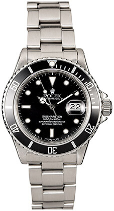ROLEX SUBMARINER 16610 BOB'S WATCHES