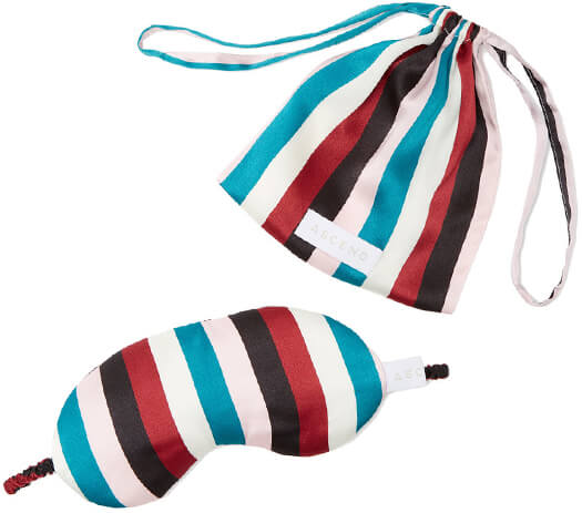 ASCENO striped eye mask