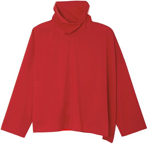 SOFIE D'HOORE red turtleneck sweater