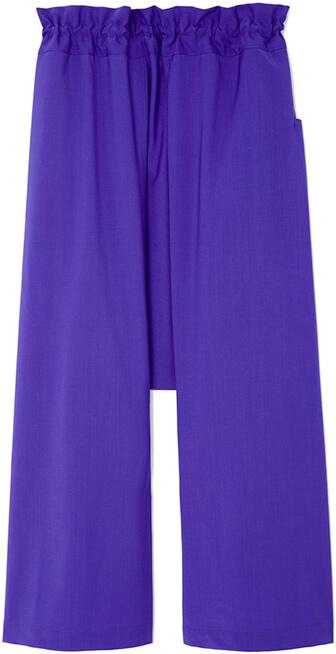 SOFIE D'HOORE purple pants