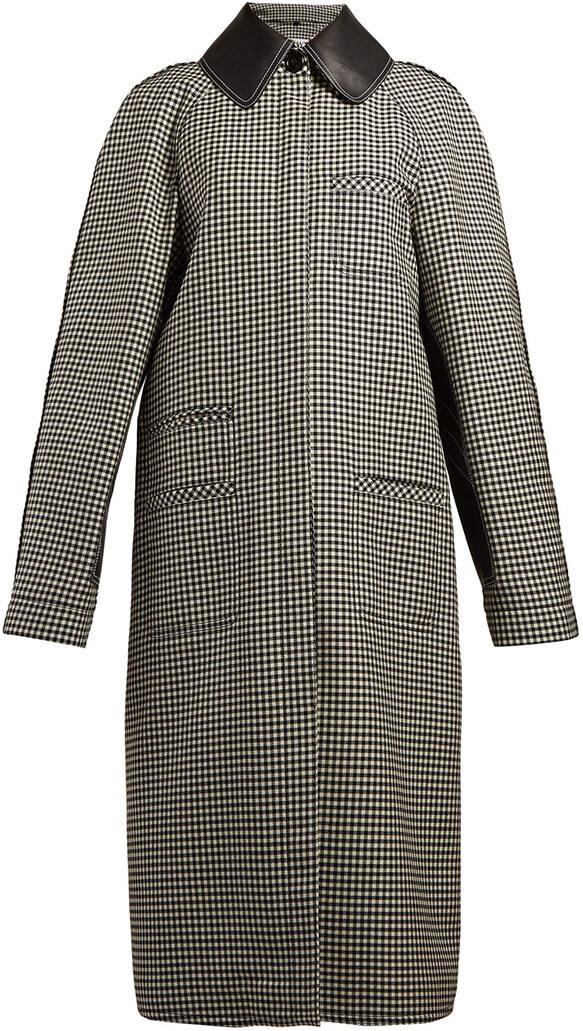 LOEWE plaid coat
