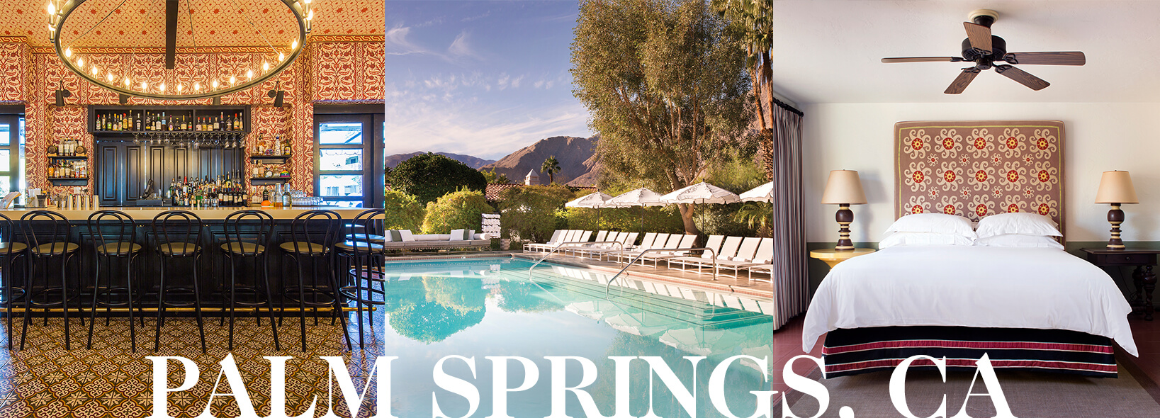 Palm Springs, California header