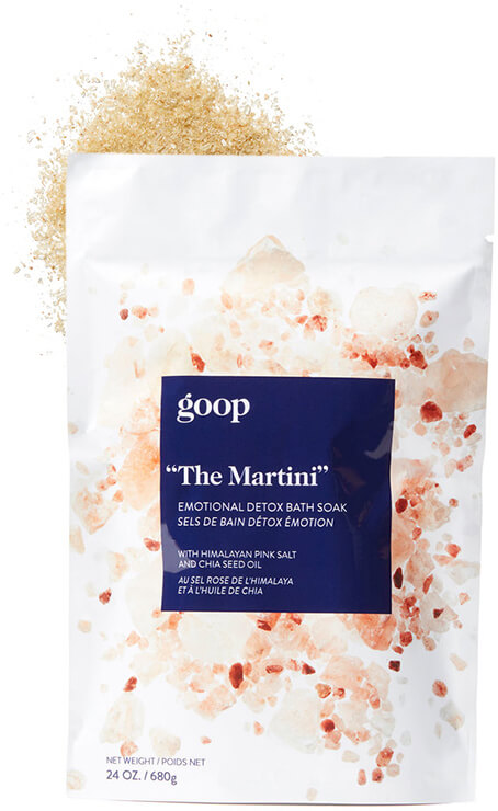 "goop Body ""The Martini"" Emotional Detox Bath Soak"