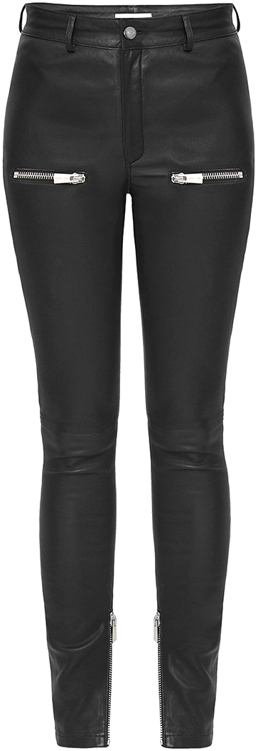 ANINE BING leather pants
