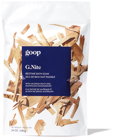 goop BODY G.NITE bath soak