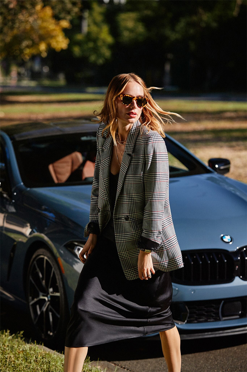 Day in the Life Anine Bing BMW