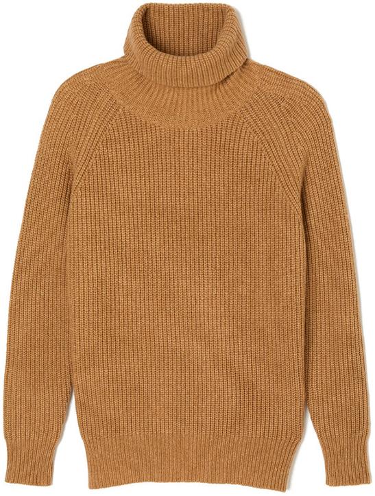 NILI LOTAN camel turtleneck Sweater