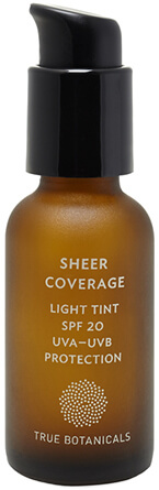 TRUE BOTANICALS sheer coverage