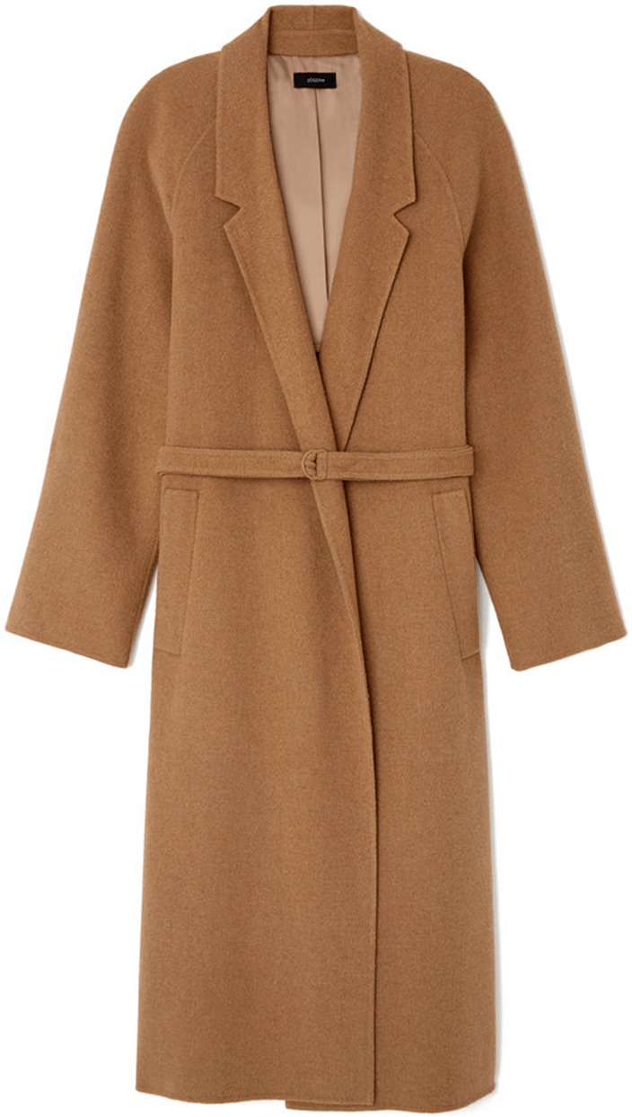 JOSEPH camel trench coat