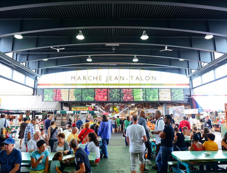Jean-Talon Market  <br>Mala Italija</em>