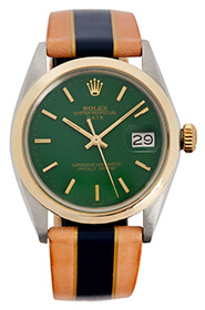 green face LA CALIFORNIENNE Rolex Oyster Watch