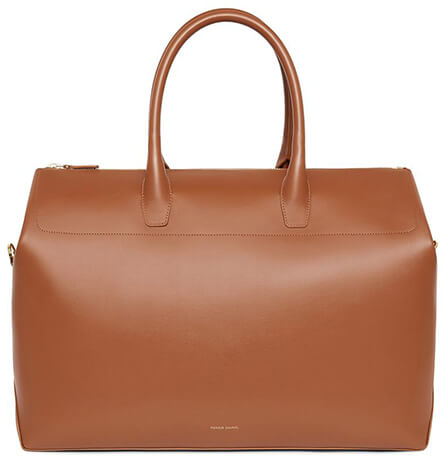 MANSUR GAVRIEL brown travel bag