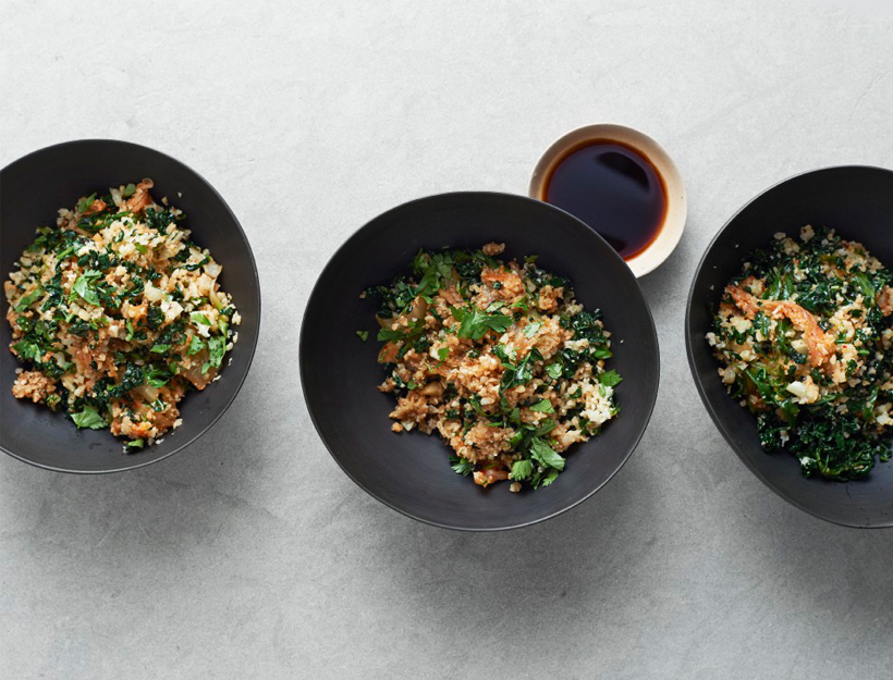 Cauliflower and Kimchi Fried Rice