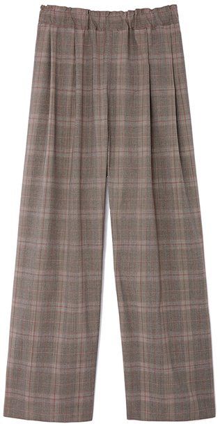 SOFIE D'HOORE grey check pants