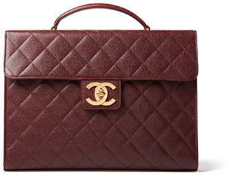 CHANEL red handbag