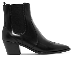 GIANVITO ROSSI black ankle boot