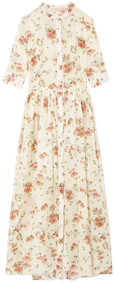 BROCK COLLECTION long floral dress