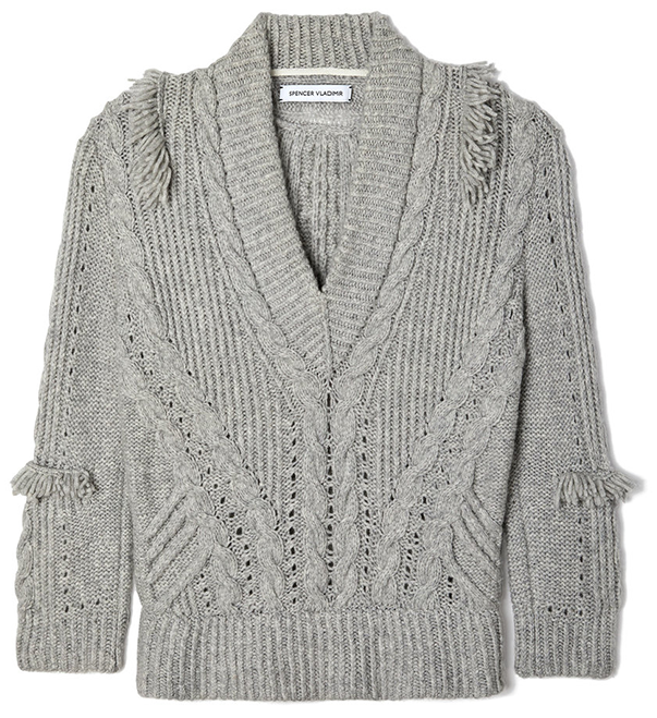 SPENCER VLADIMIR grey sweater