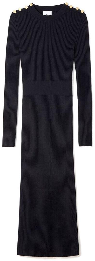 G. LABEL Rebecca Rib Sweaterdress