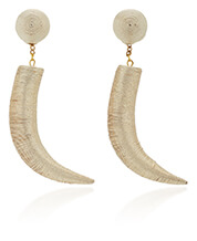 REBECCA DE RAVENEL gold earrings