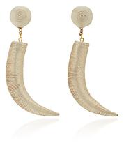 REBECCA DE RAVENEL gold earrings