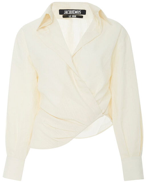 JACQUEMUS white blouse