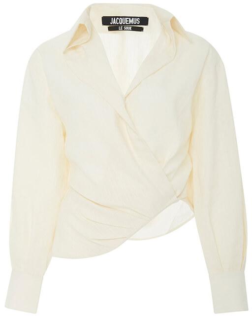 JACQUEMUS white blouse