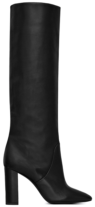 Saint Laurent tall black Boots