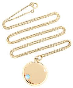 WWAKE gold necklace