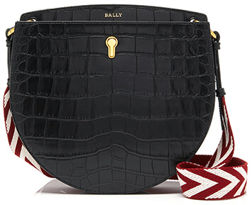 BALLY  small black bag
