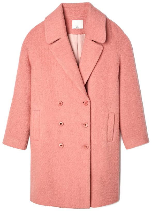 pink TIBI coat