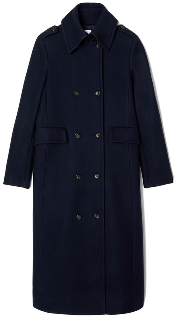 G. Label James Navy Military Coat
