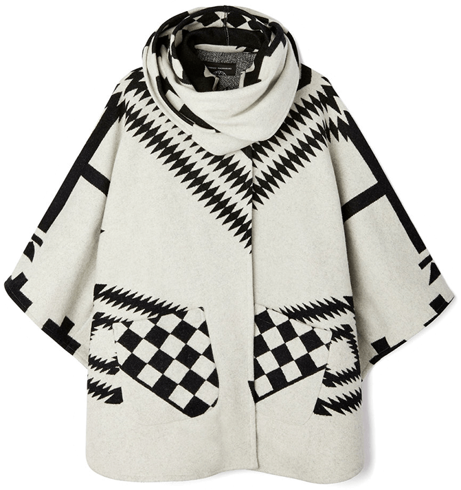 LINDSEY THORNBURG white Cloak poncho