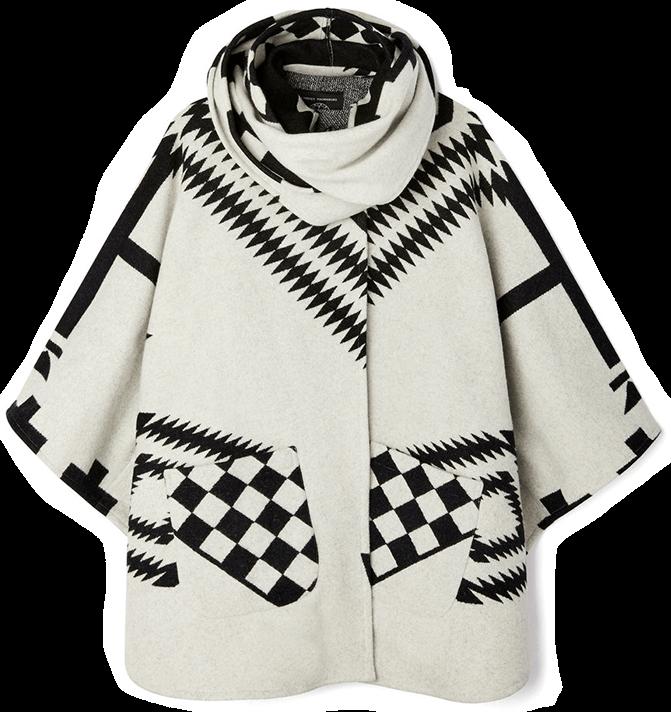 LINDSEY THORNBURG white Cloak poncho
