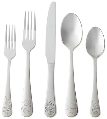 goop x cb2 flatware set