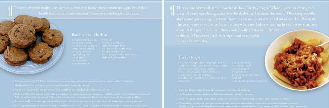 Recipe for Turkey Ragu and Banana-Nut Muffin
