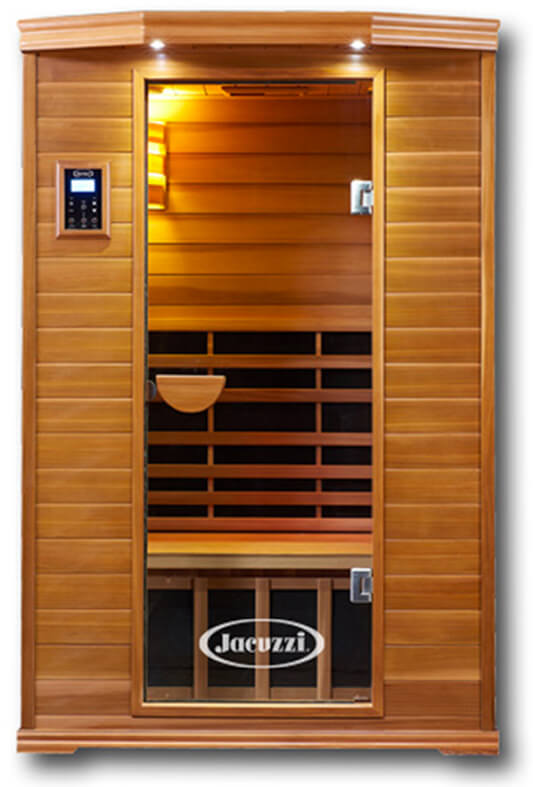Jacuzzi Clearlight Premier Cedar 2-Person Sauna