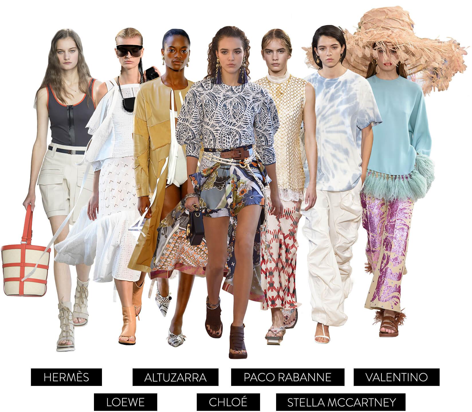 Pret-a-Porter collage