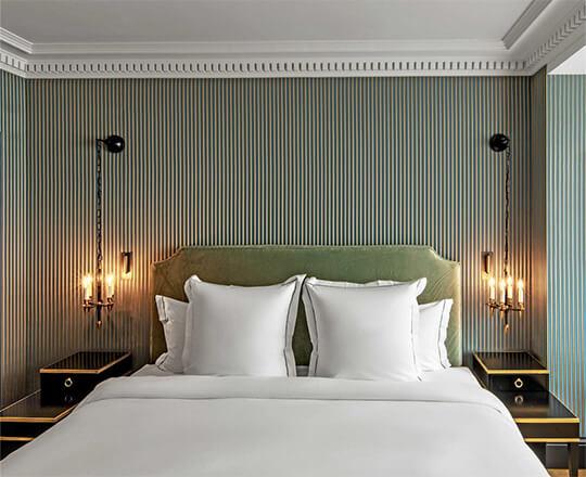 Hotel de Berri Bedroom