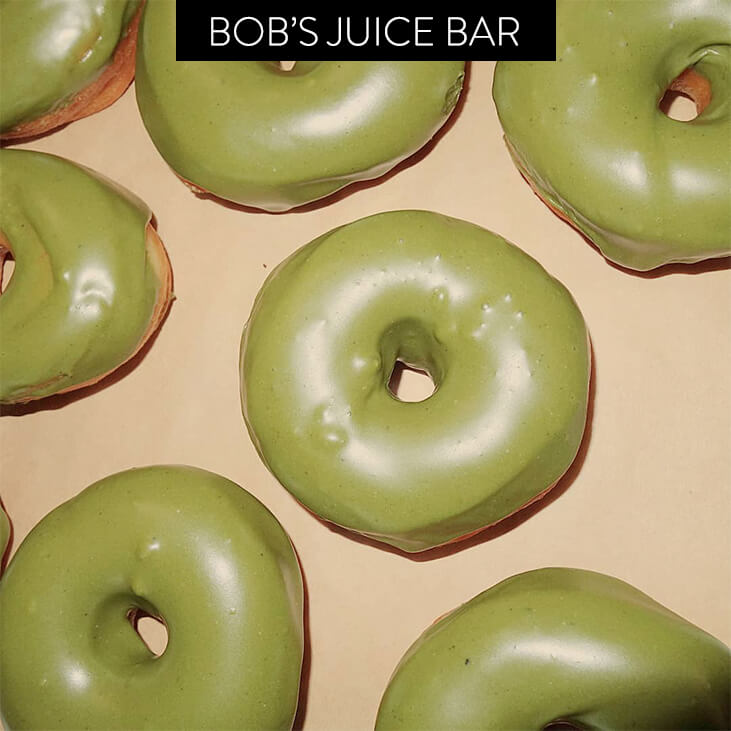 Bob's Juice Bar Donuts