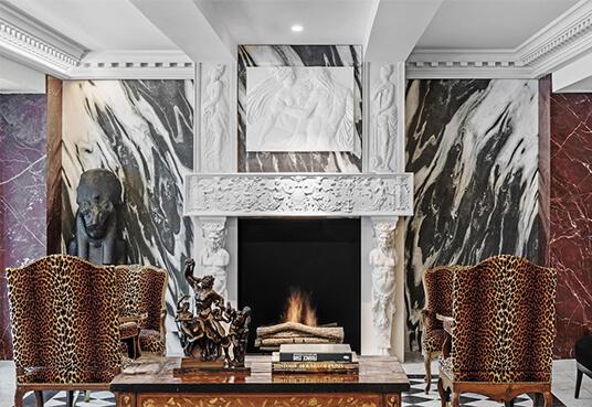Hotel de Berri Fireplace