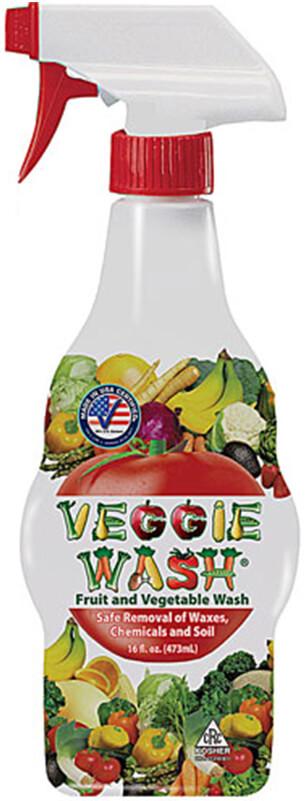 Veggie Wash Natural Fruit and Vegetable Wash