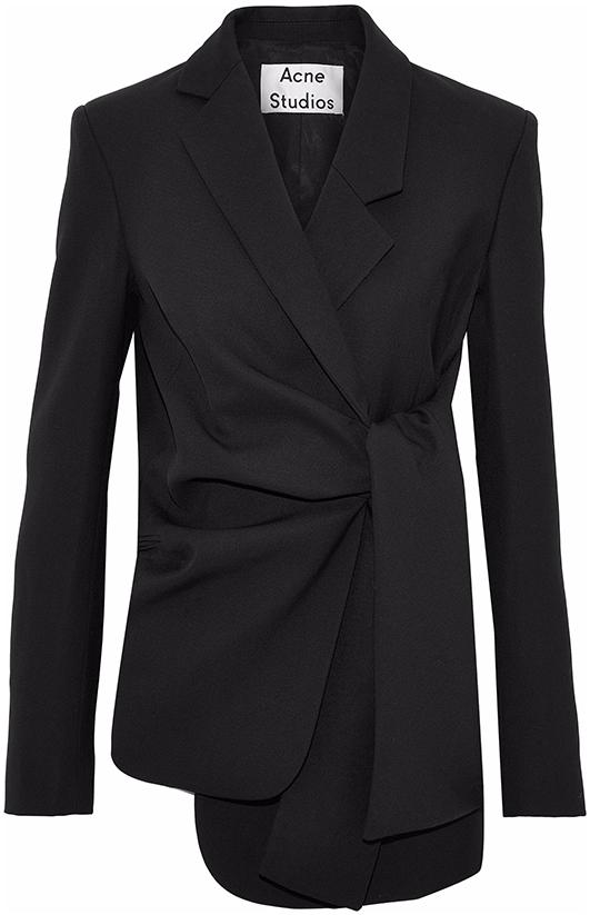 ACNE STUDIOS black blazer