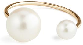 HIROTAKA pearl ear cuff