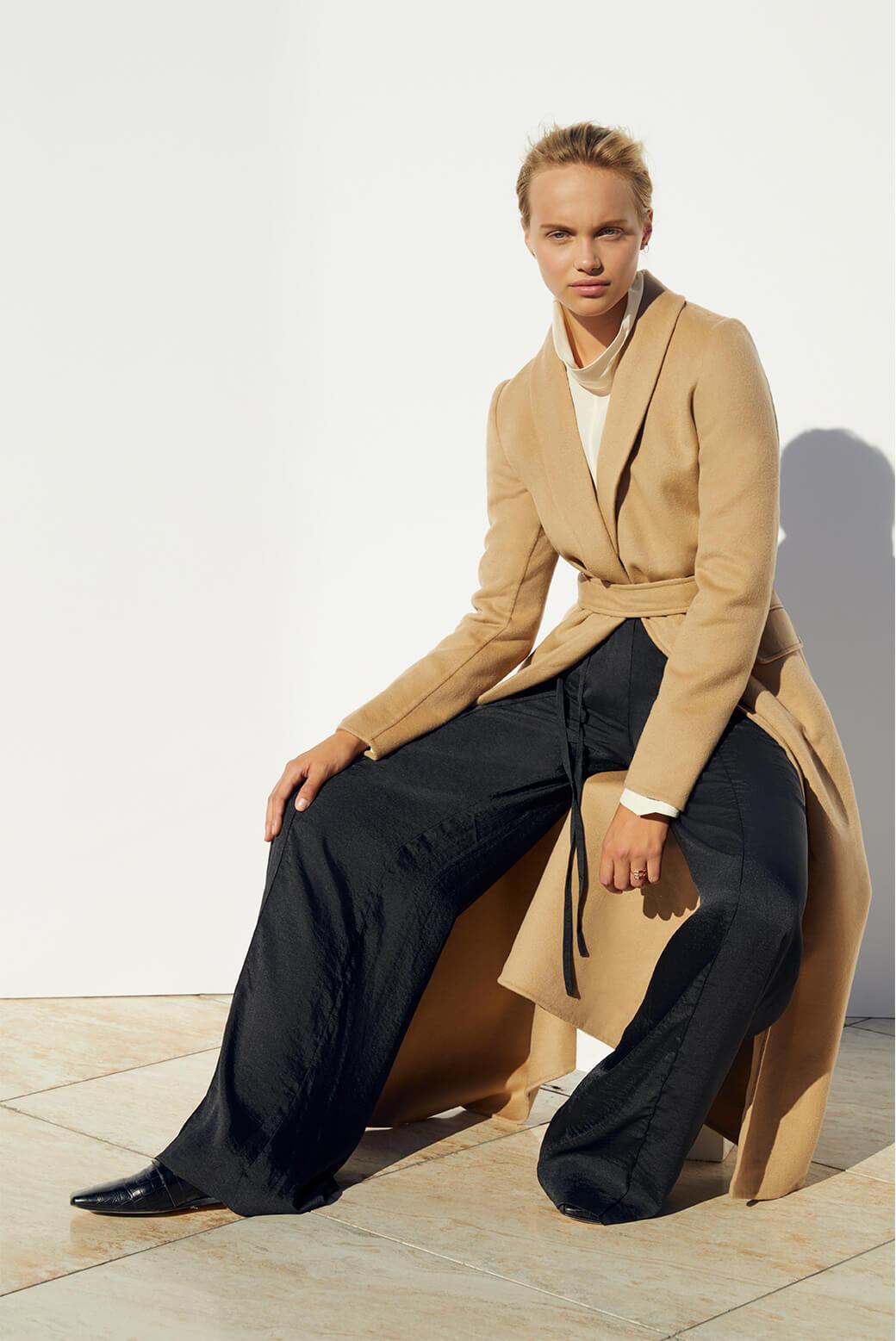 Model wearing Joseph